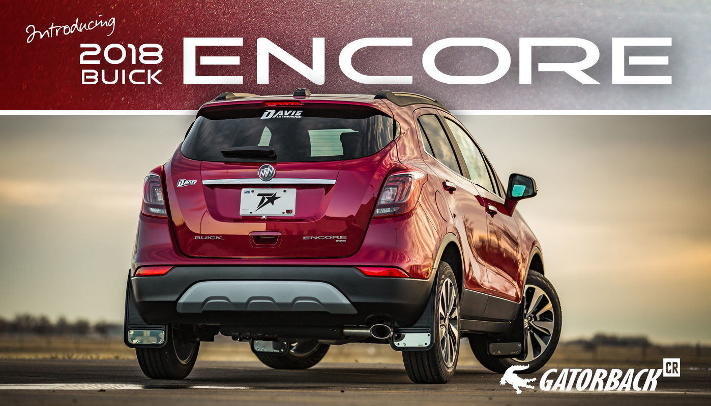 Gatorback CR Mud Flaps for 2018 Buick Encore