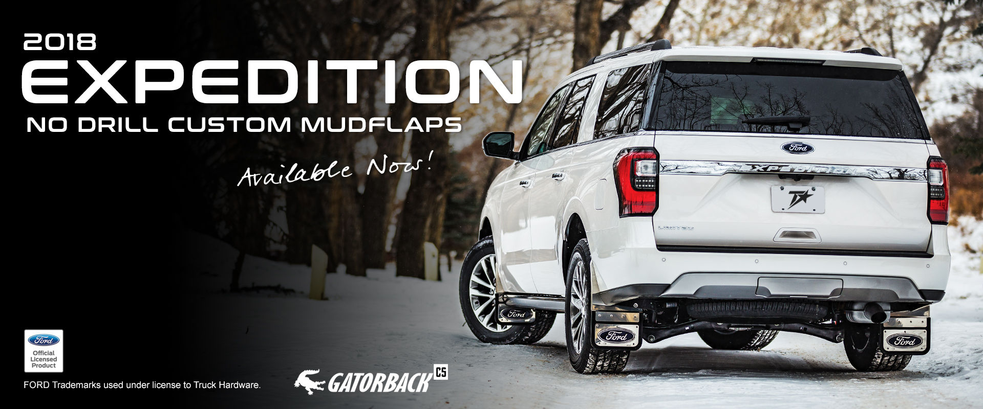 Gatorback CR Mud Flaps for 2018 Ford Expedition