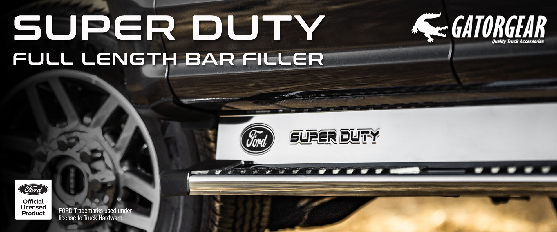 2019 Ford Super Duty Step Bar Fillers