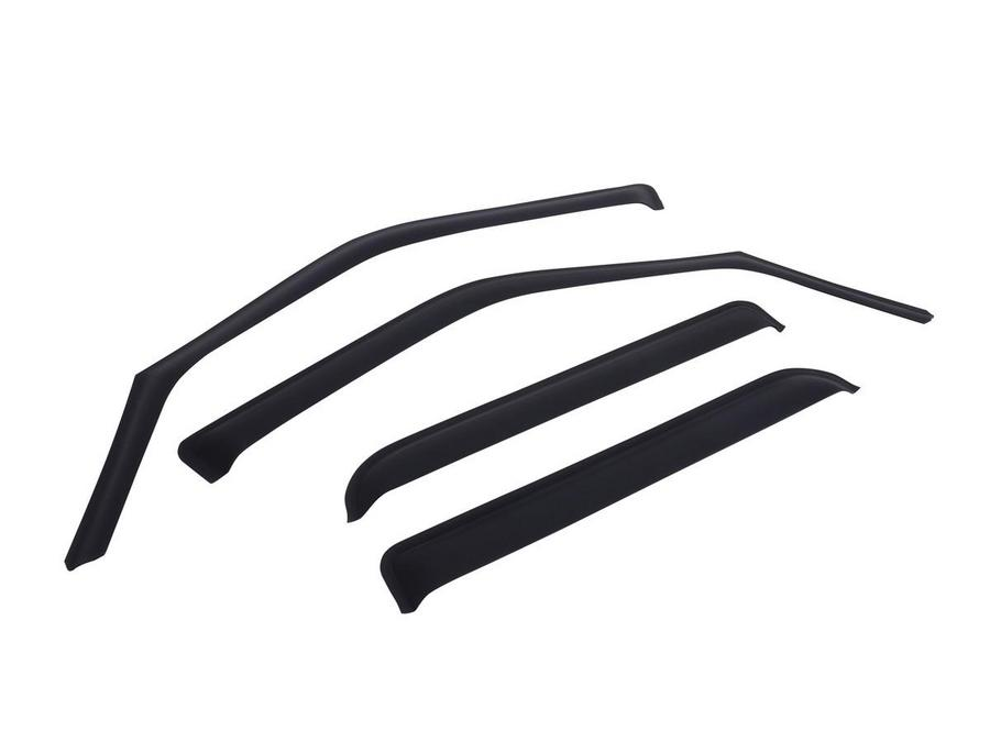 In-Channel Window Visors - Matte Black