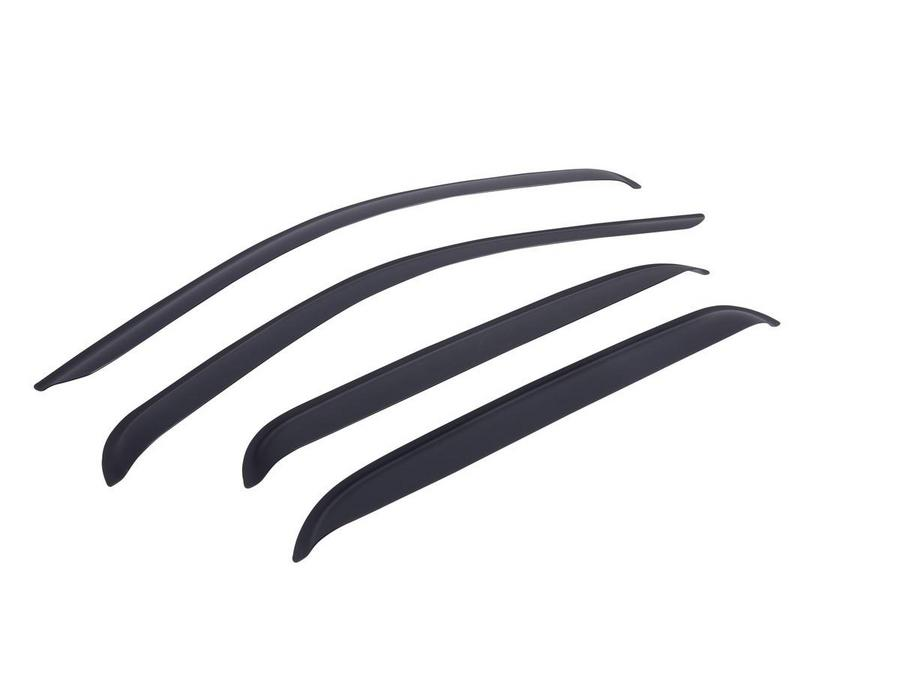 Tape-on Window Visors - Matte Black