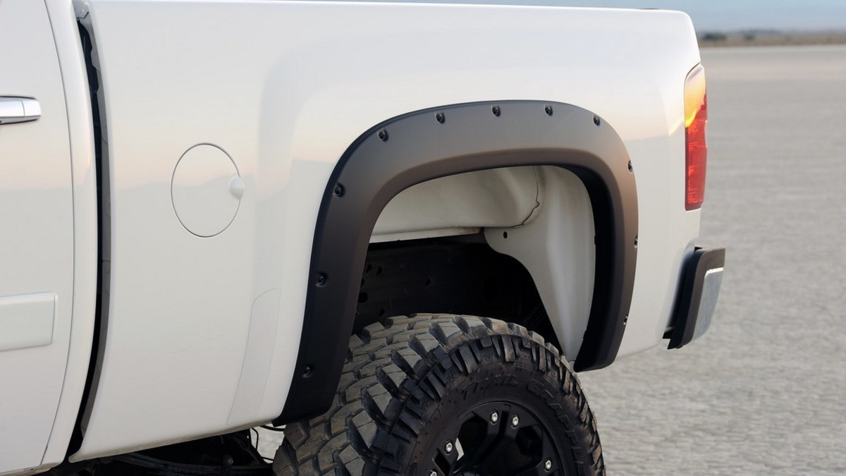 Truck Hardware Egr Bolt On Look Fender Flares Matte Black