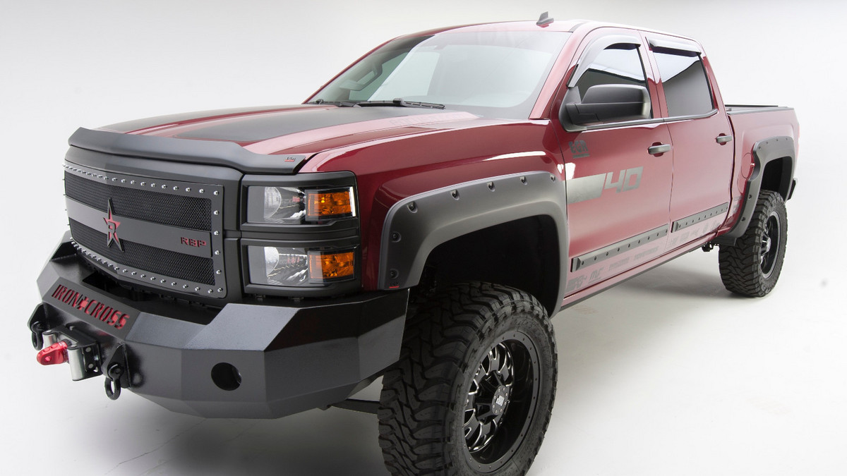Truck Hardware - EGR Bolt-on Look Fender Flares - Matte Black