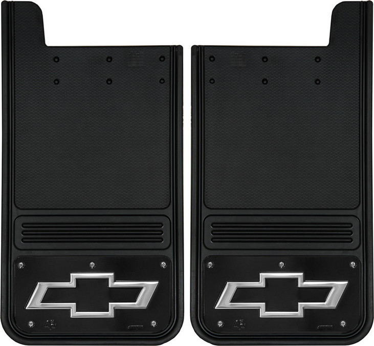 Gatorback Chevrolet Mud Flaps - Black/Wrap