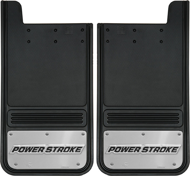 Gatorback Power Stroke Mud Flaps (2016)