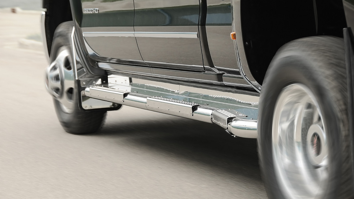 Running Boards For Dodge Ram 3500 Dually