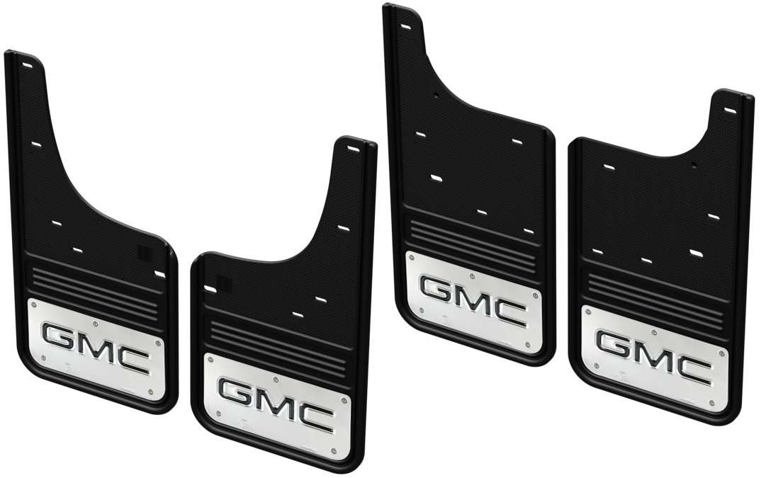 Gatorback CR GMC Mud Flaps - Black