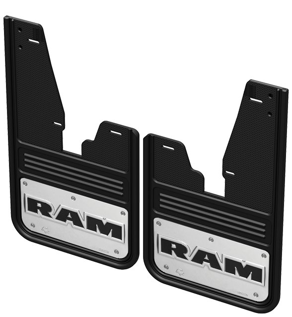 Gatorback CR RAM Text Mud Flaps