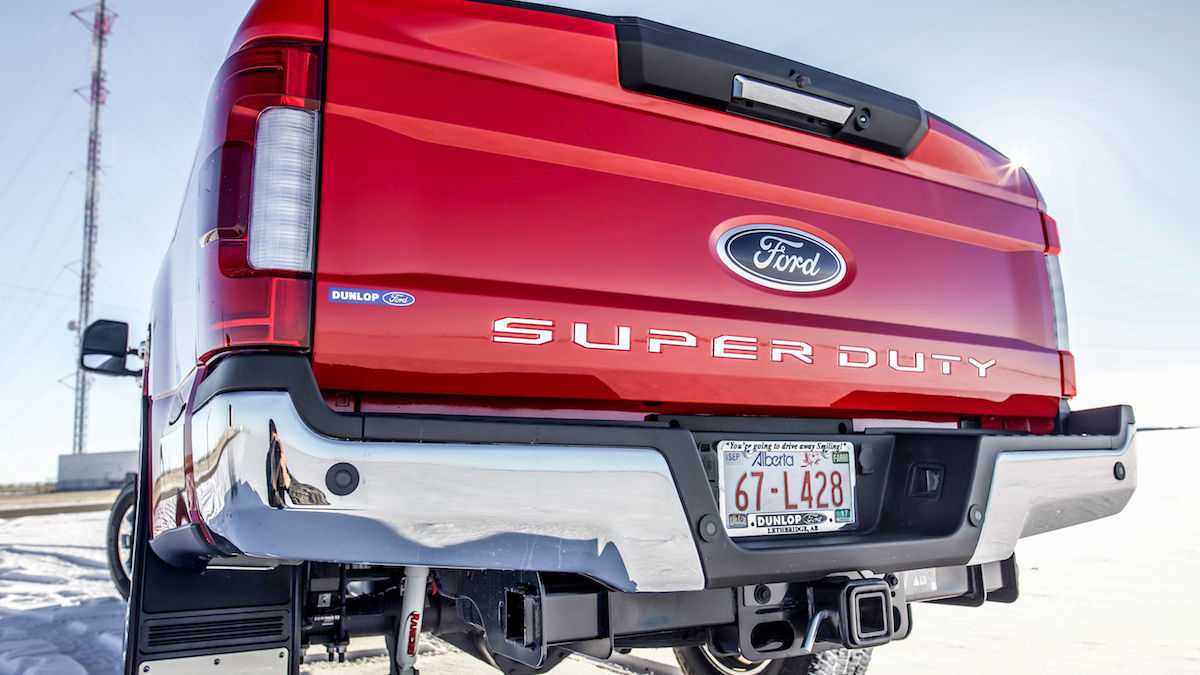 Super Duty Tailgate Letters