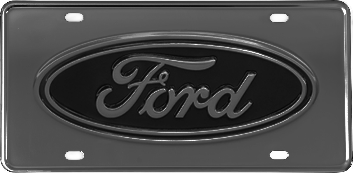 Gatorgear Ford License Plate - Gunmetal